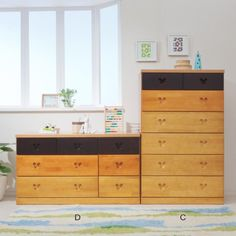 Mickey Dpsney Wooden Chest Of Drawers - Japan
