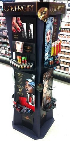 CoverGirl Catching Fire Display in drug.