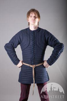 Gambison en laine, pourpoint de chevalier par Armstreet
