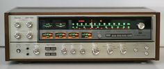 Sansui quadriphonic receiver. Quad was an early attempt at surround sound, but myriad standards doomed it. Some of the quad standards were great but many were awful. Sansui had some of the best quad receivers, along with Pioneer and Marantz.