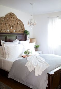 5 steps for getting your bed summer ready and a review on new bedding from Boll and Branch...
