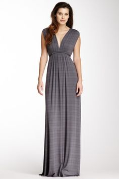 Sleeveless Caftan Maxi Dress - this looks so comfy! I would totally wear it just to watch tv in :)