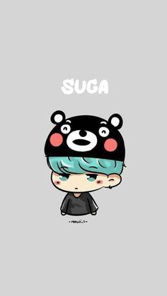 BTS / Suga / Wallpaper He looks so done! Suga Suga, Min Yoongi Bts, Bts Bangtan Boy, Bangtan Bomb, Jimin, Bts Chibi, Got7, K Pop, Wattpad
