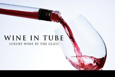 Wine in tube