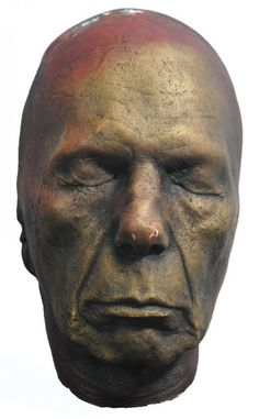 Life Mask of Leonard Nimoy >>> Wise, observant, introspective.