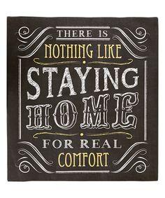'Real Comfort' Wall Sign
