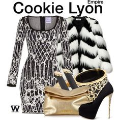 Inspired by Taraji P. Henson as Cookie Lyon on Empire.