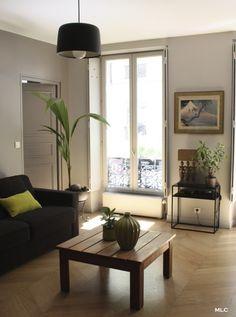 canape gris design salon moderne - Le blog deco de mlc | Déco ...