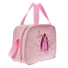 "Starlite 130 Pink Ballet Shoe Holdall Fabric : Nylon.  Size : 25 cm x 20 cm 10 cm (10"" X 8"" X 4"")  Colour : Pink.  www.dancinginthestreet.com Pink Ballet Shoes, Dance Belt, Dance Outfits, Bag Sale, Leotards, Gym Bag, Editorial, Joker, Hiking"