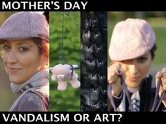 Mother's Day Card - Vandalism  or Art?