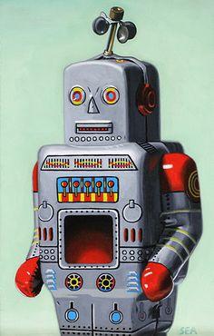 SCOTT ANDERSON Robot, 2017