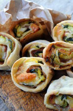 Rotolini con zucchine e provola stuzzichini veloci vickyart arte in cucina