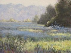 "Morning's Promise by Kathy Detrano Pastel ~ 9"" x 12"""