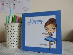 Crafting While the Baby Naps: Online Card Classes - Copic Markers for Card Makers Day 5