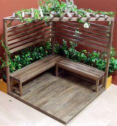 Outdoor Garden Furniture Beste Ideen Patio Bois Decks Yards Kill 'em or Cure 'em: Moving Housepl Backyard Patio Designs, Front Yard Landscaping, Backyard Ideas, Courtyard Landscaping, Backyard Seating, Garden Seating, Patio Ideas, Garden Furniture Design, Garden Design