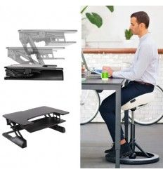 BackApp with Freedom Desk Special Offer Price Best Ergonomic Office Chair, Ergonomic Chair, Saddle Chair, Work Chair, Relieve Back Pain, Industrial Chair, Medical Laboratory, Workplace Design, Freedom