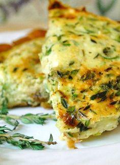 Gluten Free and Low FODMAP Recipe - Zucchini frittata