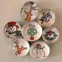 Cute Christmas magnets.