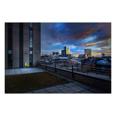 """Simon on Instagram: """"From my limited edition book 'You Live With Us, We Live With You' - available through my website. #Manchester #Dawn #NQL"""""""
