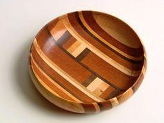 mahogany, maple, walnut, cherry bowl