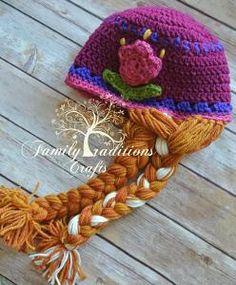 Spring Tulip Hat -