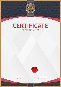 Vertical version of commerce academic honor background material Certificate Of Participation Template, Graduation Certificate Template, Blank Certificate Template, Education Certificate, Certificate Frames, Certificate Of Appreciation, Award Certificates, Frame Border Design, Page Borders Design