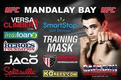 Ryan Benoit UFC TUF 18 Finale Fight Banner #MMA GraphicDesign