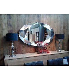 Deknudt wandspiegel Precious met zilveren lijst - Wilhelmina Designs