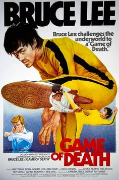 Game of Death bruce lee in Fresh - Game of Death bruce lee in Fresh - Bruce Lee Poster, Bruce Lee Art, Bruce Lee Martial Arts, Best Movie Posters, Classic Movie Posters, Cinema Posters, Movie Poster Art, Bruce Lee Games, Bruce Lee Movies