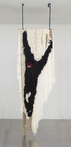 """""""Gibbon"""", 2011 by Daniel Dewar & Grégory Gicquel. Wool, acrylic."""