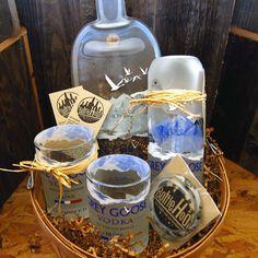 Grey Goose Vodka Gift Basket #GreyGooseVodka #GreyGoose #Vodka