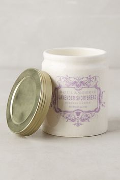 Boulangerie Jar whipped cream and pear #anthropologie