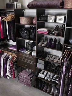 Wish my closet was this neat