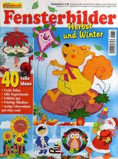 Bastelwelt - Fensterbilder Herbst und Winter - Subtomentosus Xerocomus - Álbuns da web do Picasa
