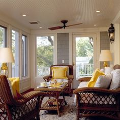 Gibson Island - traditional - porch - dc metro - Pyramid Builders Ceiling fan!!!!