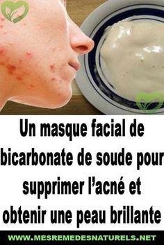 Un masque facial de bicarbonate de soude pour supprimer l'acné et obtenir une peau brillante