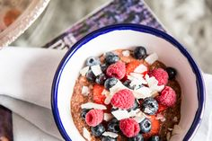 Healthy chocolate porridge is my new morning obsession and aside from the fact that it is super filling and healthy, it is also easy to make.
