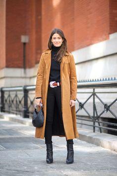Amanda Weiner in a Reformation coat