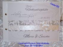 Gästebuch Hochzeit,Exklusiv,Geschenk, GB 155