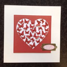 Memory box butterfly heart by Gilly Haigh