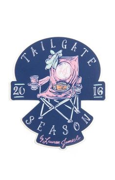 It's time for tailgate season! - Constructed of durable vinyl with added UV…
