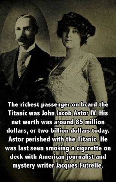 25 Astounding Titanic Facts You've Never Heard Before - Titanic - History Facts The More You Know, Good To Know, Did You Know, Titanic History, Rms Titanic, Titanic Deaths, Wtf Fun Facts, Random Facts, Fun Movie Facts