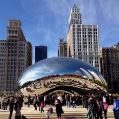 The Bean, Chicago, IL....you all know why I love this....