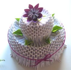Image detail for -Tort origami 3D « Creatii manuale-Amy Crafts