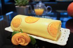 香澄蛋糕捲【網路社團最火紅】 @ jeanica 的幸福烘培日記  - 橙片*10, THIN:https://bakingintotheether.wordpress.com/2016/03/25/orange-honey-chiffon-swiss-roll/ 香草酒 = 香草精 5ml. 蛋白:50g 糖, 1/4t tartar. Preheat 350F, bake 340F 20m. 1/3 tub cool whip. After rolling, freeze 20m fridge 1hr. (1432 = 179C*8)