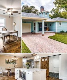 Browse the southern charm of this farmhouse and view many other elegant English manors, cozy cottages, and colorful cabins! Texas Homes, Southern Homes, Southern Charm, Modern Farmhouse Lighting, Farmhouse Light Fixtures, Country Home Exteriors, Country House Interior, Cottages And Bungalows, Cabins And Cottages