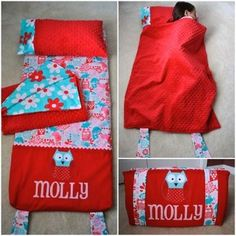 Sewing Ideas For Baby Nap Mat Tutorial More - You will love this Nap Mat Pattern that's perfect for sleepovers and is fully portable. It's a brilliant idea and you will wonder how you got by without it. Sewing Projects For Kids, Sewing For Kids, Baby Sewing, Sewing Crafts, Kids Nap Mats, Baby Nap Mats, Preschool Nap Mats, Nap Mat Pattern, Quillow Pattern