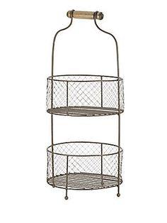 Home Essentials Standing Fruit Baskets - No Color - Size No Size