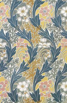margueritemoulin:  The Textile Blog: Rene Beauclair and Art Nouveau Design
