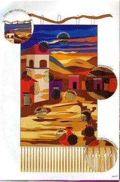 Weaving Textiles, Tapestry Weaving, Loom Weaving, Hand Weaving, Loom Knitting, Baby Knitting, Types Of Weaving, Tapestry Design, Weaving Projects